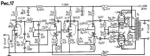 акустические системы и схемы ламповых унч к ним подробно - Микросхемы.