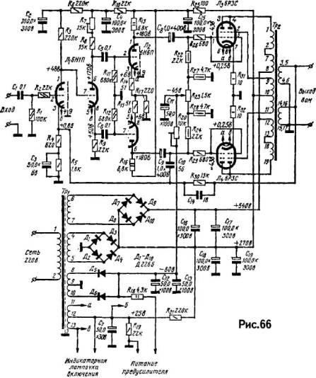 High-end усилитель схема Www next sound ru статьи схемотехника ламповых усилителей ламповый high end От hi...